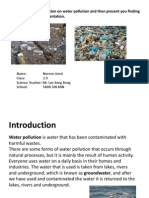 B6D4E1 Gather Information on Water Pollution