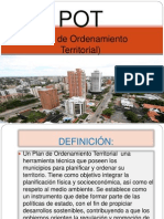 Diapositivas de Plan de Ordenamiento Territorial