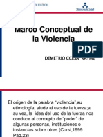 Marco Conceptual Dela Violencia Social Ccesa2