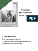 Jürgen Trabant - Alexander von Humboldt et les langues