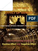 effect of mining