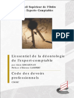 Guide_deontologie Oeca France Alain Lemaignan