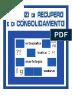Laboratorio Nuovo Progetto Grammatica 3- Esercizi Di Recupero e Consolidamento