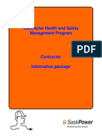 Contractor Health Safety Information Package