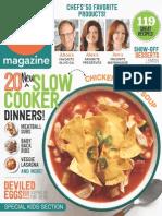 Food Network Magazine - April 2014 USA