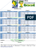 Tabela Bolão