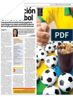 La Nutricion en El Futbol