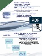 Planear Monitorear Auditoria Informatica