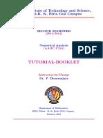 NA Tutorial Booklet