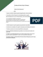 Decálogo Del Buen Project Manager