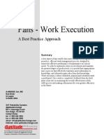 Fans - Work Execution