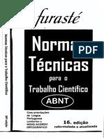 Furasté - Normas Técnicas - Abnt 2012.