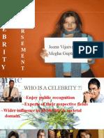 Celebrity Ppt