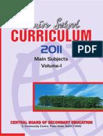 Senior School Curriculum 2011