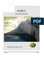 Zambia Energy Sector Profile - June 2013