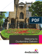 Dunfermline Delivers Welcome Pack 2014