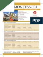 Fees Structure of IIUM Montessori