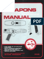 Weapons & Field Equipment Technical Manual