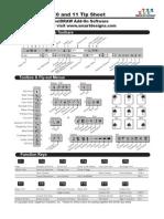 CorelDRAW™ 9, 10 and 11 Tip Sheet