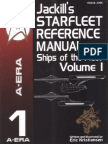 Jackill's Starfleet Reference Manual, Volume 1