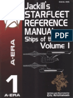 Jackill's Starfleet Reference Manual, Volume 1
