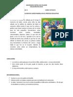 Analisis de La Revista Super Pandilla y Su Influencia en El Proceso Educativo