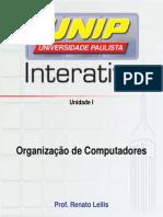 Slides Organização de Computadores Unidade I