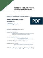 PORTADA INFORME TECNICO