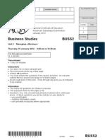 Smr Exam Paper - 1b - Recruitment