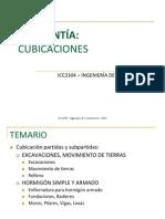 Ayudantía 1 - Cubicaciones_1_2013