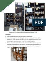 Keadaan Rak Penyimpanan Bahan Kimia Di FKIP Kimia UNSRI