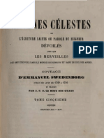 Em Swedenborg ARCANES CELESTES TomeCinquieme 1sur2 Genese XXII XXIV Numeros 2760 3227 LeBoysDesGuays 1847 1891