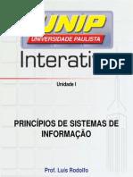 Slides Princípios de Sistemas de Informação Unidade I