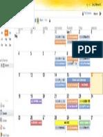 standard 8 calendar portfolio