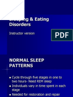 Sleeping & Eating Disorders(2)