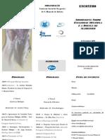Folheto - Encontro - Abordagem a EM e ALZHEIMER PDF