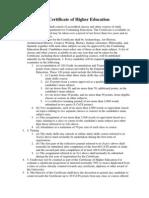 Higher Education Regulations 2013