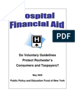Do Voluntary Guidelines Protect Rochester's Consumers and Taxpayers?