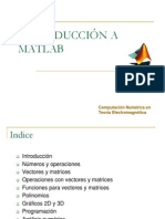 Introduccion Al Matlab