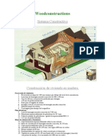 Construcciones de Madera Sistema Constructivo