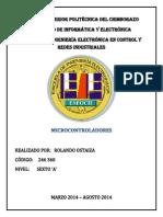 Registros Sfr de Los Microcontroladores Pic16f628a y Pic16f877a