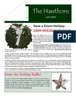 Merryspring 2009 Fall Newsletter