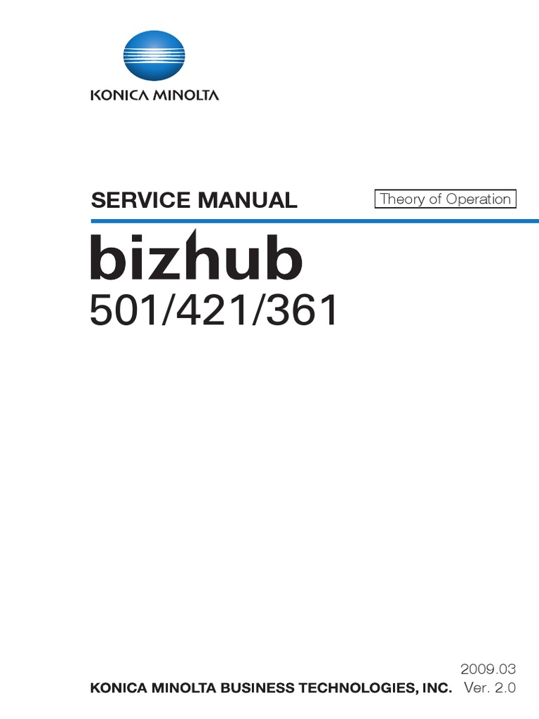 Konica minolta bizhub 283 service manual download