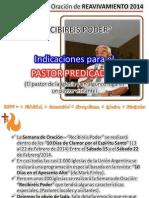 R2014 Indicaciones Pastor Predicador