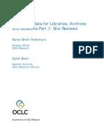 Metadata Website Examples
