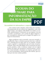 A Escolha Do Software Para Informatização Da Sua Empresa