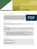 Convocatoria 2013 I 1