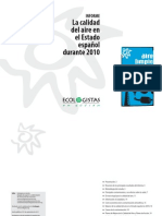 Informe Calidad Aire 2010