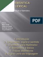Semântica Lexical