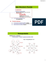 CURS III - Relatia Structura -Functie. Mb. Hb